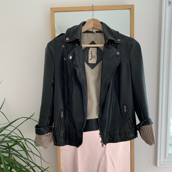 Anthropologie Jackets & Blazers - Faux leather jacket from Anthropologie